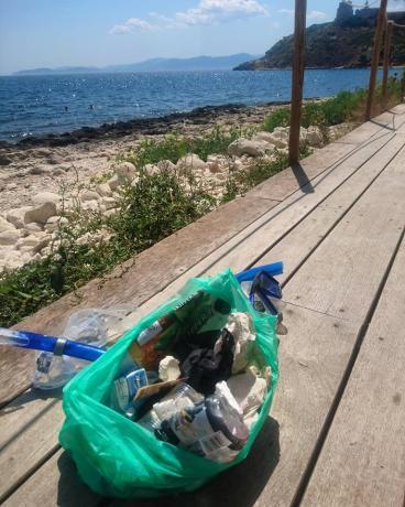 beachcleanup terazze Calamosca 25 07 2018
