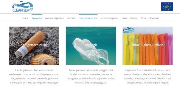 Clean Sea Life cosa possiamo fare