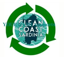 CleanCoastSardinia logo no hashtag with text