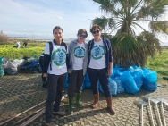 Clean Coast Sardinia founding volunteers