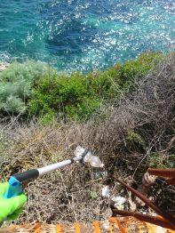 Clean Coast Sardinia con i membri di AEGEE Cagliari puliscono il litorale cagliaritano