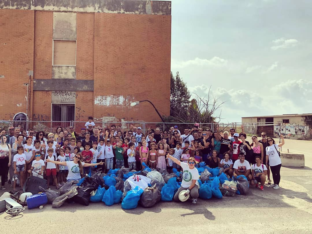 International Coastal Cleanup Day - Clean Coast Sardinia - Cagliari 21 September 2019