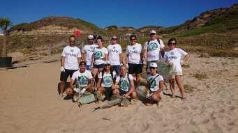 Clean Coast Sardinia pulisce la spiaggia di Porto Paglia