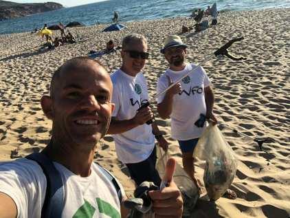 Clean Coast Sardinia volunteers in action - 14 July 2020