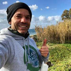 Clean Coast Sardinia volunteer DEC 2020