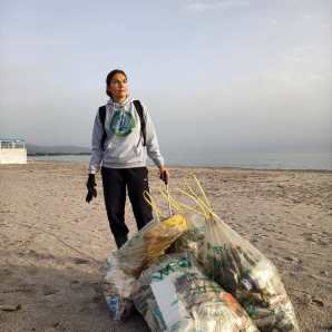 solo cleanups and mini cleanups January 2021 Clean Coast Sardinia